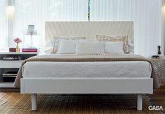 Fotos de camas, cabeceiras e lençóis dos mais variados estilos. São 270 quartos decorados para você avaliar