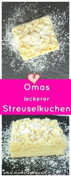 Knusprige Streusel, fluffiger Hefeteig, der Streuselkuchen schmeckt wie früher von Oma...Frisch aus dem Ofen ist er am leckersten.