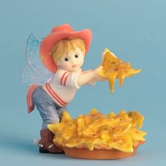 Amazon.com - Enesco My Little Kitchen Fairies Fairie Serving Nachos Figurine, 4-Inch - Collectible Figurines
