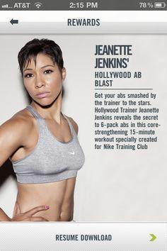 My fitness shero --> Jeanette Jenkins