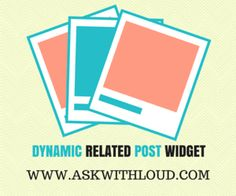 How to add a stylish related post widget in blogger- Hi today I will share with you a dynamic script for your blog. This script is pretty cool because with the help of this script, you can make your related post widget stylish.