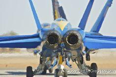 """""""F-18 Business End""""  NAF El Centro, California  Copyright © MMIX Greg Loskorn  Milepost Imaging"""