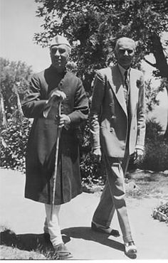 Nehru and Jinnah 1947