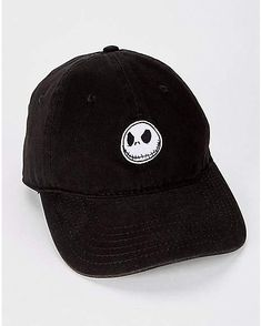 Jack Skellington Dad Hat - The Nightmare Before Christmas - Spencer s 7957d4121d5