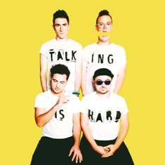 "Walk The Moon To Release New Album ""Talking Is Hard"" On December 2nd. Just dropped on spotify. It's everything, absolutely e v e r y t h i n g."
