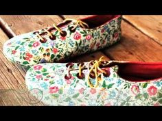 In this video I will show you how to attach a sole to handmade shoes in 15 minutes! To learn how to make these oxford shoes with your sewing machine, please ...