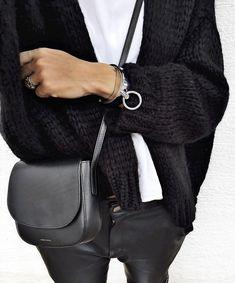 Le parfait look noir et blanc #31 (instagram Audrey Lombard)