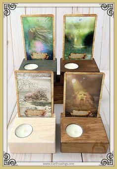 Rider Waite Tarot Cards, Oracle Tarot, Affirmation Cards, Deities, Altar, Tea Lights, Gift Guide, Best Gifts, Card Holder