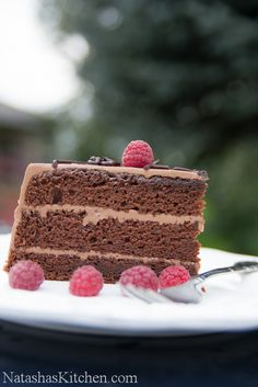 Chocolate Prague Cake | Russian Desserts, Recipes, Cake