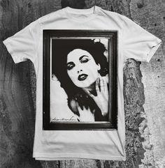 "DW #2: ""Audrey""  Order it here: http://desartworker.bigcartel.com/product/dw-audrey-2-0-shirt-pre-order  2012 © by Desartworker"