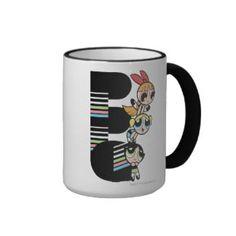 The Powerpuff Girls 3 Coffee Mugs - lifestylerstore - http://www.lifestylerstore.com/the-powerpuff-girls-3-coffee-mugs/