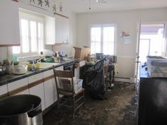 Kitchen after the storm