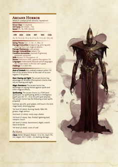 DnD Homebrew — Dragon Age Demons Part 3 by Emmetation /. Dnd Dragons, Dungeons And Dragons 5e, Dungeons And Dragons Homebrew, Fantasy Creatures, Mythical Creatures, Dnd Stats, Dnd Classes, Dnd 5e Homebrew, Dnd Monsters