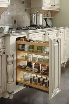Kitchen Cabinet Design - CLICK THE PICTURE for Many Kitchen Ideas. #kitchencabinets #kitchenstorage