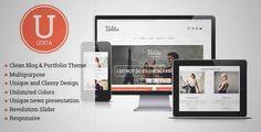 Udita - A Blog & Portfolio Wordpress Theme | DOWNLOAD & REVIEW