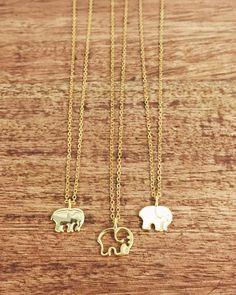 Gold Ella necklaces