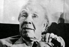 Borges todo el año: Jorge Luis Borges: El forastero (Foto ca. 1984 sin mención de autor) http://borgestodoelanio.blogspot.com/2015/01/jorge-luis-borges-el-forastero.html