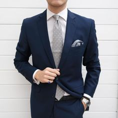 Johann Christian — Today's Combination. Houndstooth pocket square and...