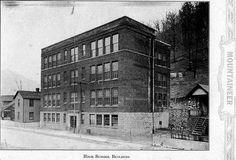 Iaeger, WV - Iaeger High School - 1927, McDowell Co WV