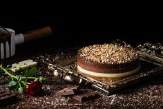 Receta Tarta Tres Chocolates - Dulcespostres.com