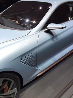 Retour aux origines pour Huyndai avec son modèle Genesis NY Concept #MondialAuto