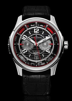 e4fac727e74 Jaeger-LeCoultre and Aston Martin Present Chronograph Watch Watches Channel