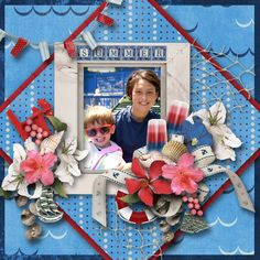 Credits: Surf, Sand and Sea created by Manu Scraps available at Digital Scrapbooking Studio.