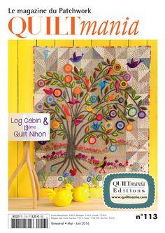 Quiltmania #113 disponible sur notre site internet : http://www.quiltmania.fr/shop/fr/quiltmania/657-magazine-n113.html