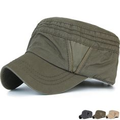 Adults Mens Ladies Cotton Twill Bush Beanie Hats with Two Pockets one with Zip