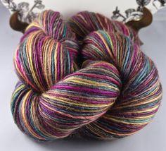Handspun Yarn Gently Thick and Thin Single by SheepingBeauty