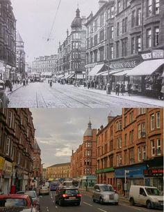 Glasgow Punter: Walking Through Partick, Past and Present Scotland History, Glasgow Scotland, Glasgow Architecture, Glasgow City Centre, Family History, Old Photos, Past, Beautiful Places, Villa