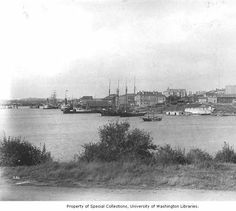 looking north across the Inner Harbour,Victoria ca 1893 from the front of the Bird Cages Victoria British Columbia, Emily Carr, Western Canada, Bird Cages, Vancouver Island, History Facts, Alaska, Islands, Westerns