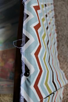 No sew RVcamper jack knife sofa and dinette cushion reupholstery