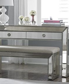 Mirrored Furniture So Brad And Angelina For More Celebrity Decorating Tips Check Out Mblog