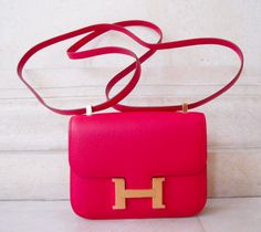 HERMES SHOULDER BAG @SHOP-HERS . Seller asking twelve THOUSAND dollars for it - she paid thirteen THOUSAND five-hundred!!!! Cute though!
