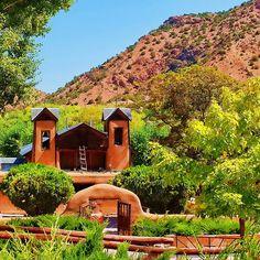El Santuario de Chimayo, New Mexico, USA