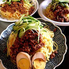関東甲信梅雨明けです!! - 145件のもぐもぐ - 肉味噌たっぷりジャージャー麺 by kokohimayuto