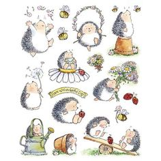 My favourite little hedgehogs are Penny Black Hedgies!!
