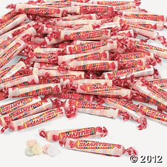"""Smarties® Roll Candies - to fill the """"candy"""" bucket in the studio.  Perfect treat for a smile!"""