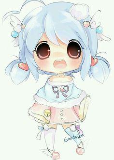 Imagen de anime, cute, and kawaii