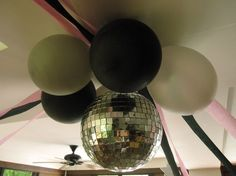 disco party decorations