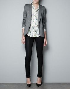 Gonna copy this look for work. Hahah. Now where to buy affordable blazers