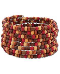SoulFlower-NEW! Redwood Bead Bracelet-$12.00 #liviniseasy @Shalika Martin Flower