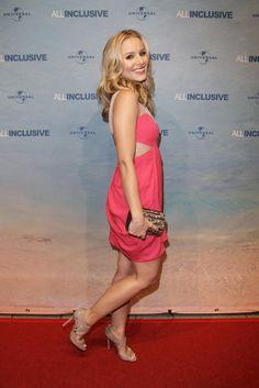from Hot Mix - Kristen Bell Galery Celebrity Feet, Celebrity Dresses, Chris Geere, Short Celebrities, Perfect Legs, Ali Larter, Kristen Bell, Michelle Williams, Chloe Grace Moretz