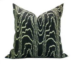 Kelly Wearstler Agate pillow cover in Ebony/Beige by sparkmodern