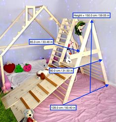 The gym for toddlers, Step Triangle, Climbing ladder for toddler, Climbing triangle for toddlers, Tr Toddler Climbing, Indoor Climbing, Eco Bebe, Indoor Playset, Toddler Gym, Aspen Wood, Natural Playground, Playground Ideas, Jungle Gym