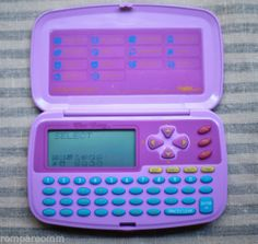 "Tiger Electronics ""Dear Diary""  I had one of these! It was one of my favorite toys of all time."