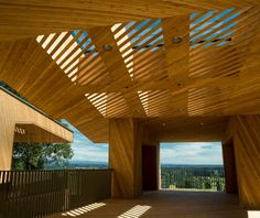 Sokol Blosser Winery Tasting Room by Allied Works Architecture, photo: Andrea Johnson Photography