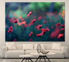Poppy Poppy Painting Van Gogh Painting On Canvas Poppy Art Poppy Print Poppy Wall Art Red Poppy Wall Art Canvas Painting Painting by ArtWog Red Poppies, Poppy Flowers, Painted Vans, Oversized Wall Art, Surf Decor, Thing 1, Van Gogh Paintings, Office Wall Decor, Canvas Prints