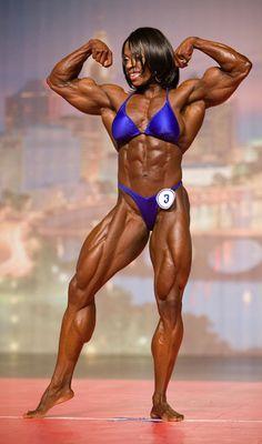Gallery - Iris Kyle Training 10x Miss Olympia -